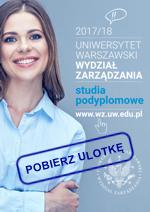 Ulotka Studia Podyplomowe 2017